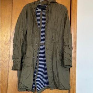 J.Crew Fall Knee-Length Army Jacket In Medium